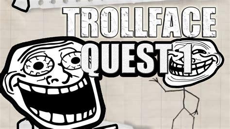 OYUNU BEN TROLLEDİM !  TROLLFACE QUEST 1   YouTube
