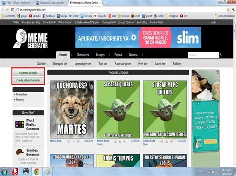 paginas para crear imagenes de memes   Taringa!