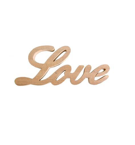 Palabra de Madera LOVE   Have a nicely day. Invitaciones ...