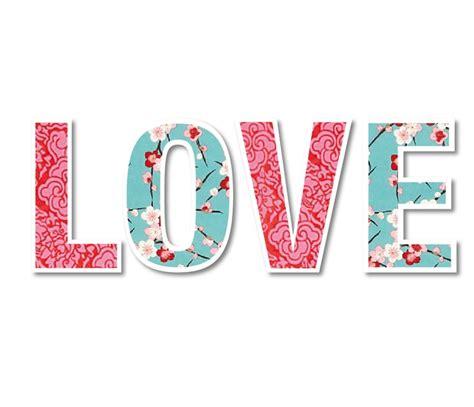Palabra LOVE   words   Pinterest