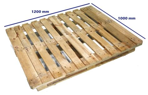 Palets CP Industria Química : Palet CP6 1200 x 1000 Reciclado