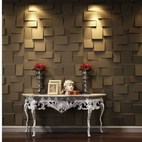 Panel Decorativo 3D Rubik ¡Alta Decoración para tus ...