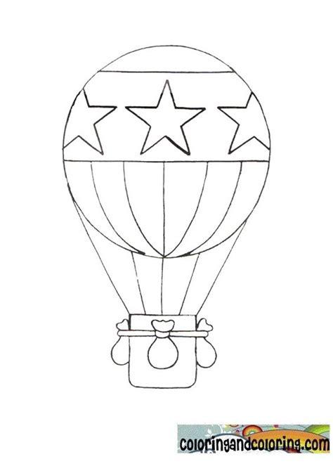 Paper Hot Air Balloon Template | Hot Air Ballon Coloring ...