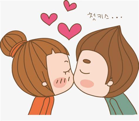 Pareja besos, Beso, Los Amantes, Pareja De Dibujos ...