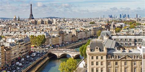 Paris View wide wallpaper