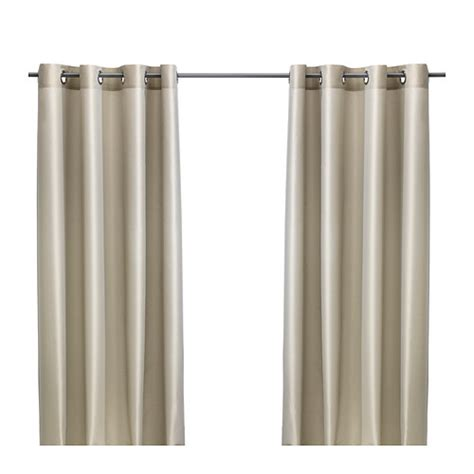 PÄRLBUSKE Curtains, 1 pair   IKEA