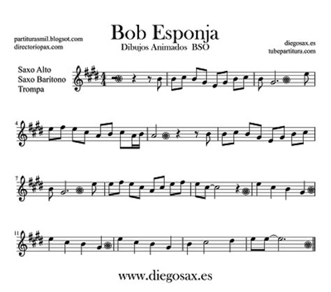 partituras para saxo alto   Buscar con Google | Sheet ...