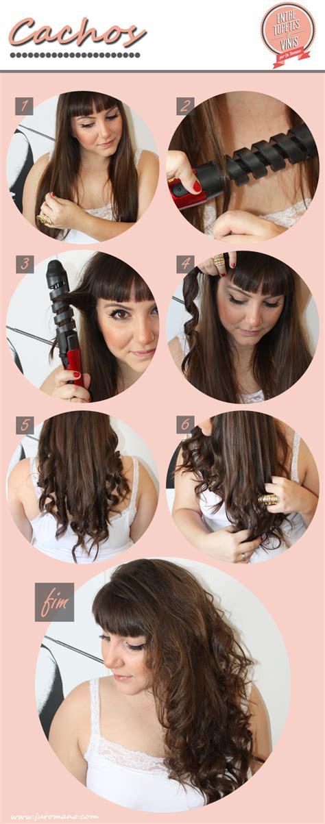 Passo a passo para enrolar o cabelo com a nova ferramenta ...