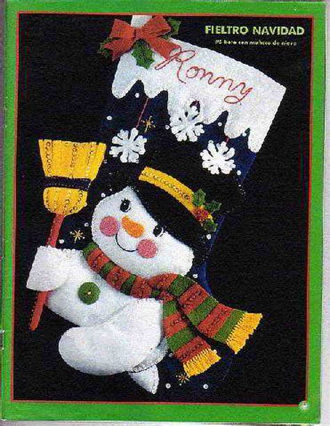 Patrones y Moldes de Botas y botitas para Navidad en ...