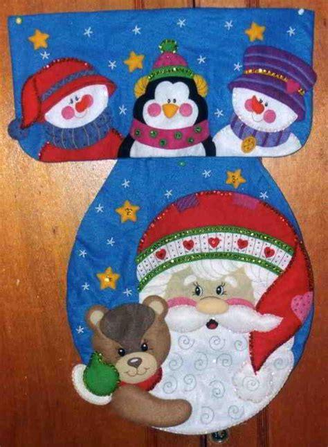 Patrones y Moldes de Juegos de Baños para Navidad en ...