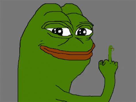 Pepe Meme GIF   Pepe Meme Middlefinger   Discover & Share GIFs