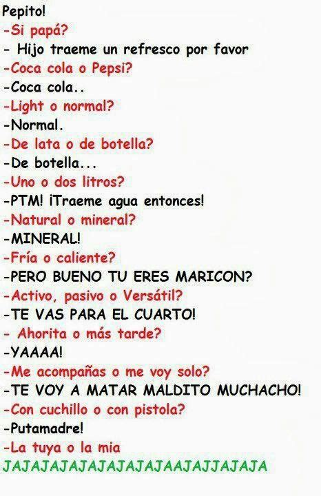 Pepito   Frases chistosas :)   Pinterest   Funny and Lol