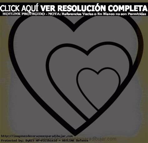 Pequeño Corazón Para Colorear | Imágenes de Corazones Para ...