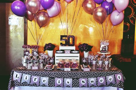 Perfect 50th Birthday Party Themes for YouBirthday Inspire ...