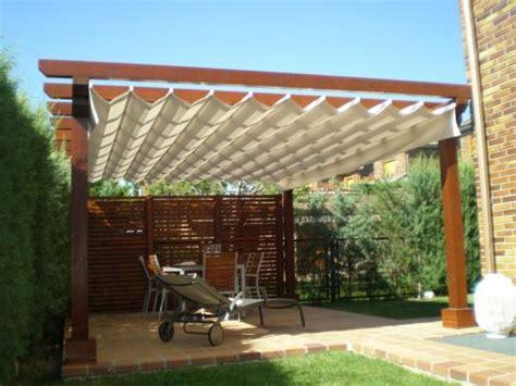 Pérgolas de madera para jardines, terrazas y áticos ...