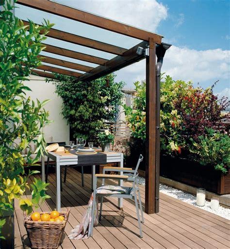 Pérgolas jardines terrazas con estilo muy modernas