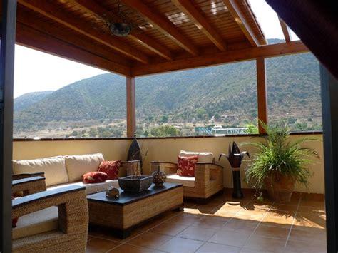 pérgolas jardines terrazas muebles rattan ideas | Jardín ...