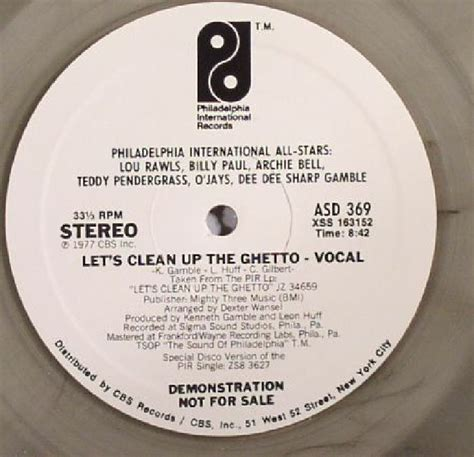 PHILADELPHIA ALL STARS/MFSB Let s Clean Up The Ghetto ...