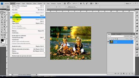 Photoshop Capas Copiar y Pegar Selecciones   YouTube
