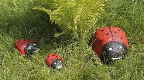 Piedras pintadas para jardín   Hogarmania