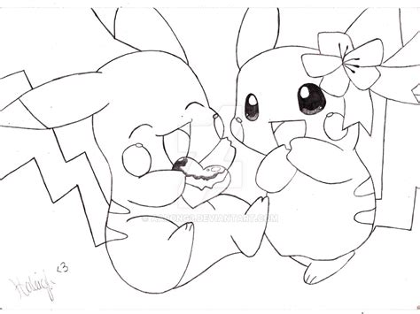 Pikachu Love Drawing | www.pixshark.com   Images Galleries ...