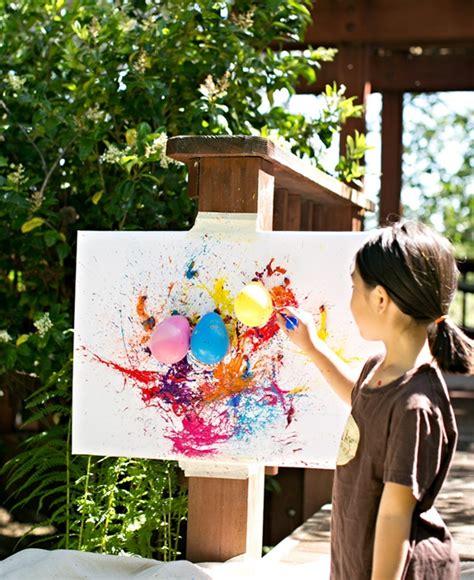 Pintando con Globos – Actividades de Verano | Fiestas y ...