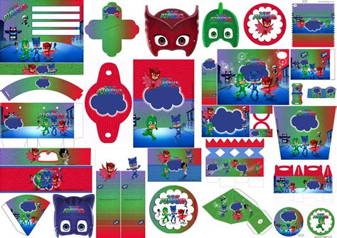 PJMasks: Free Printable Kit. | Oh My Fiesta! in english