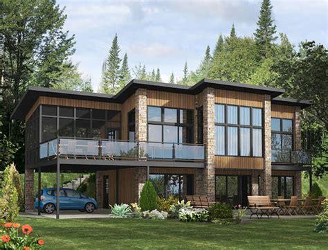 plano de casa con terraza en el segundo piso