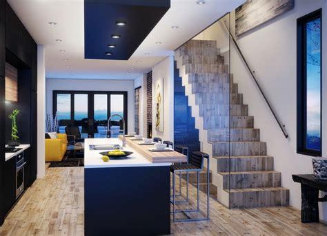 Planos casa dos pisos angosta y larga [Diseño] | Construye ...