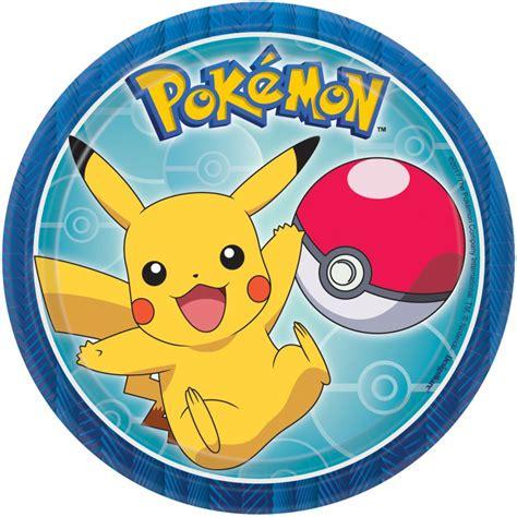 Platos para cumpleaños o fiesta de Pokémon con todos los ...