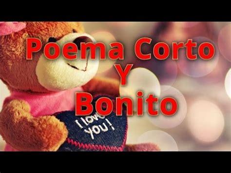 Poema de amor corto y bonito   YouTube