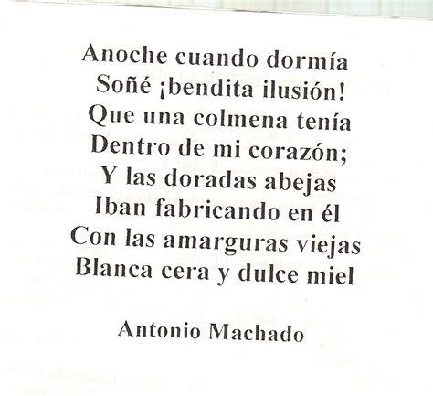 Poema de Antonio Machado, autor modernista. | Letras ...