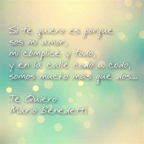 Poema  Te Quiero  Poemas del Alma Mario Benedetti # ...