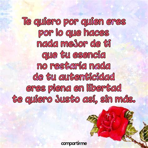 Poemas de amor cortos con imágenes de rosas con brillos y ...
