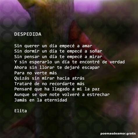 Poemas de despedida | Poesias y poemas de amor