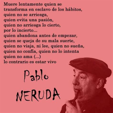 Poesias de pablo Neruda