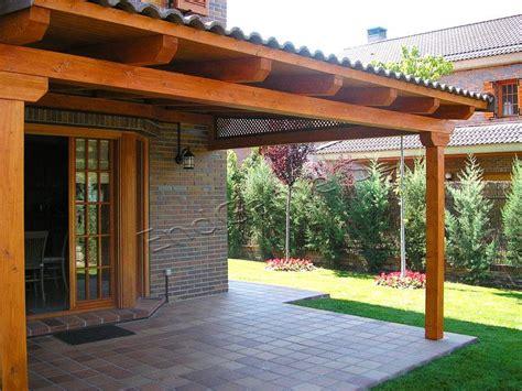 Porche de madera para jardín | Existe muchas posibilidades...