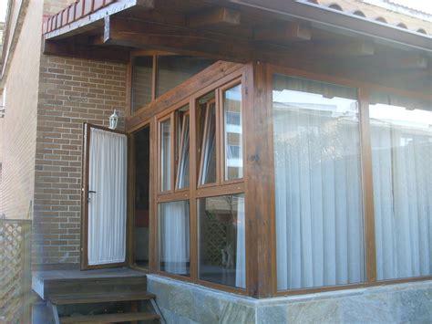 Porches de aluminio y madera   Aluminios Noáin Garés
