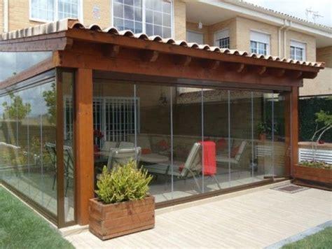 Porches de Madera cerrados con cristal | Galerías ...