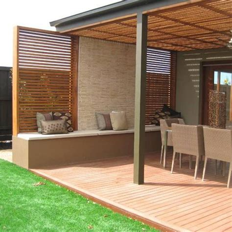 Porches de madera ideales para decorar su terraza ...