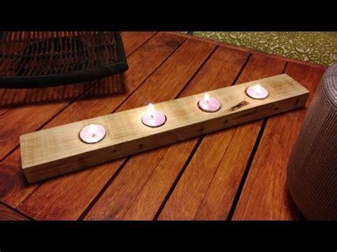portavelas de madera | facilisimo.com