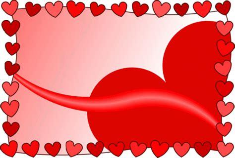 Postais Grátis: Moldura romântica