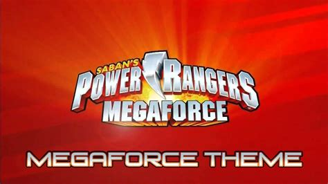 Power Rangers Megaforce   Theme Music [CLEAN]   YouTube