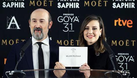 Premios Goya 2017: aquí la lista completa de nominados ...