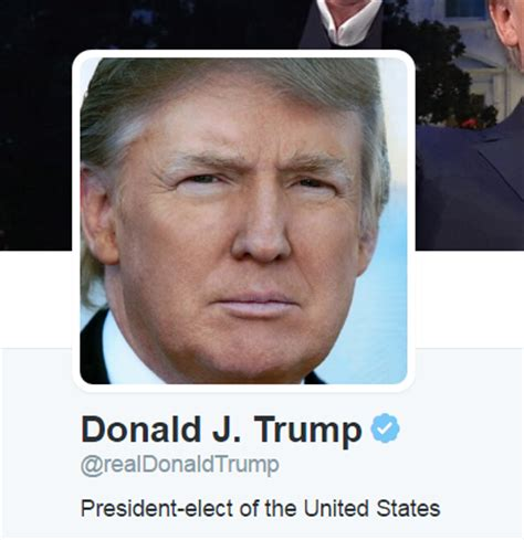 President elect @realDonaldTrump comes alive on Twitter ...