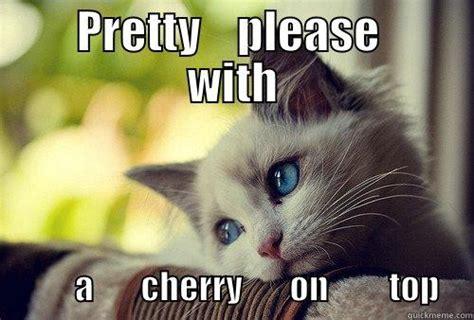 Pretty Please   quickmeme
