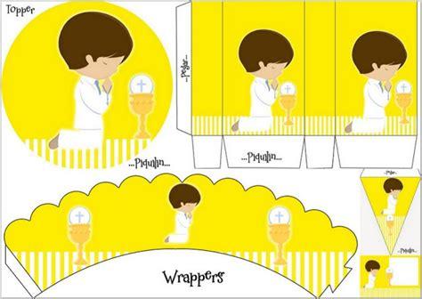 Primera Comunión de Niño: Mini Kit en Amarillo para ...
