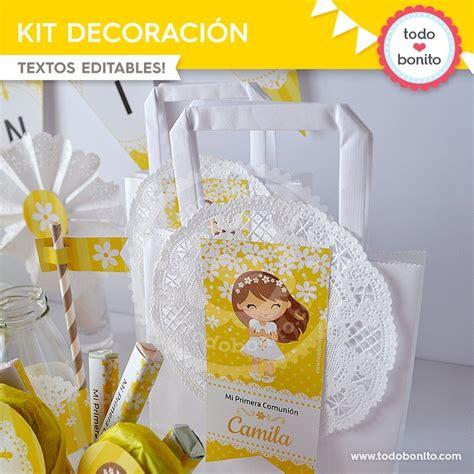 Primera Comunión Margaritas: Kit decoración   Todo Bonito