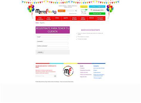 Productos online para fiestas. Mercafiestas