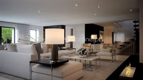Projetos de decoração interiores casas   Projetos 3D ...
